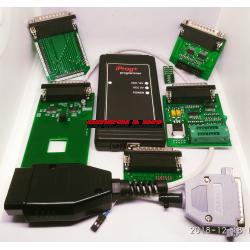 IPROG+ SN325, 44_PIN_BOARD, EEPROM, RFID (2 in 1), BDM/UART/MBUS, OBD (4in1) CAN+K-line, MAIN Test board, EEPROM Test board. SN325. Software V85.