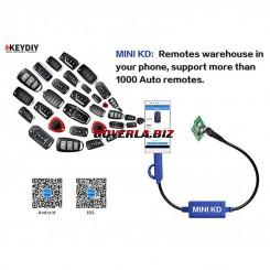 KEYDIY Mini KD Remote Key Generator