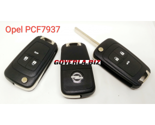 opel  remote key with 433MHZ  with 7937E chip, 3 button key