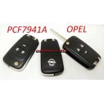 OPEL PCF7941A keys.